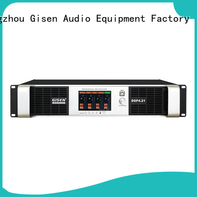 Gisen high quality direct digital amplifier factory