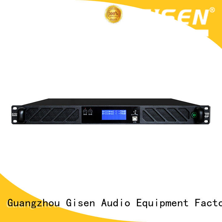 Gisen multiple functions desktop audio amplifier amplifier for venue