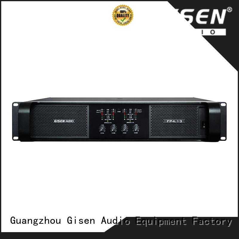 Gisen unrivalled quality class td power amplifier 4x1300w for various occations