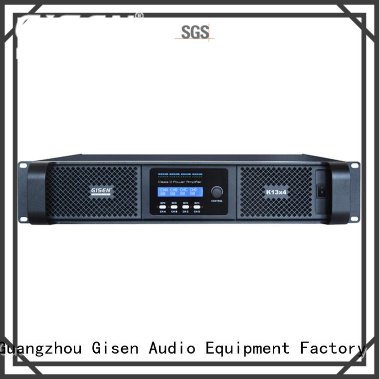 Gisen advanced class d stereo amplifier wholesale for performance