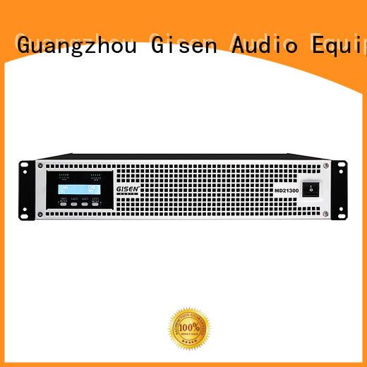 Gisen competitive price best audio amplifier terrific value for stadium