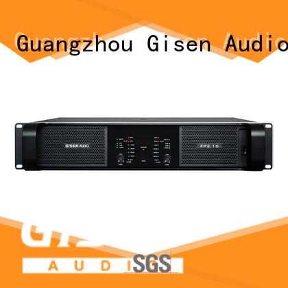 Gisen 4x1300w stereo amplifier source now for vocal concert