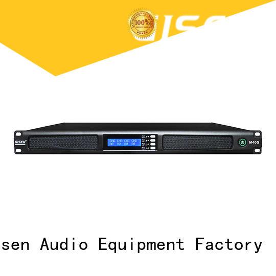 Gisen new model digital power amplifier series for venue
