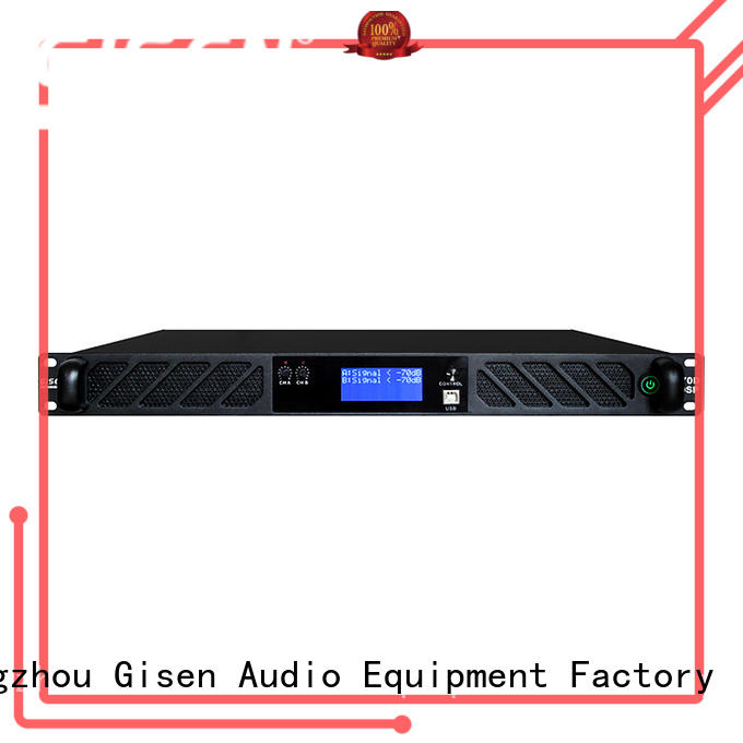 Gisen professional best power amplifier in the world manufacturer