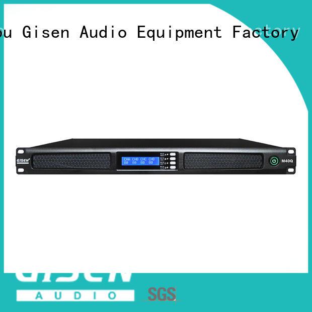 Gisen new model digital stereo amplifier series for entertainment club