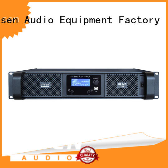 professional multi channel amplifier dsp factory