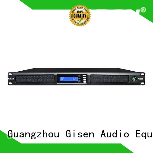 Gisen new model 4 channel amplifier pro audio power for entertainment club