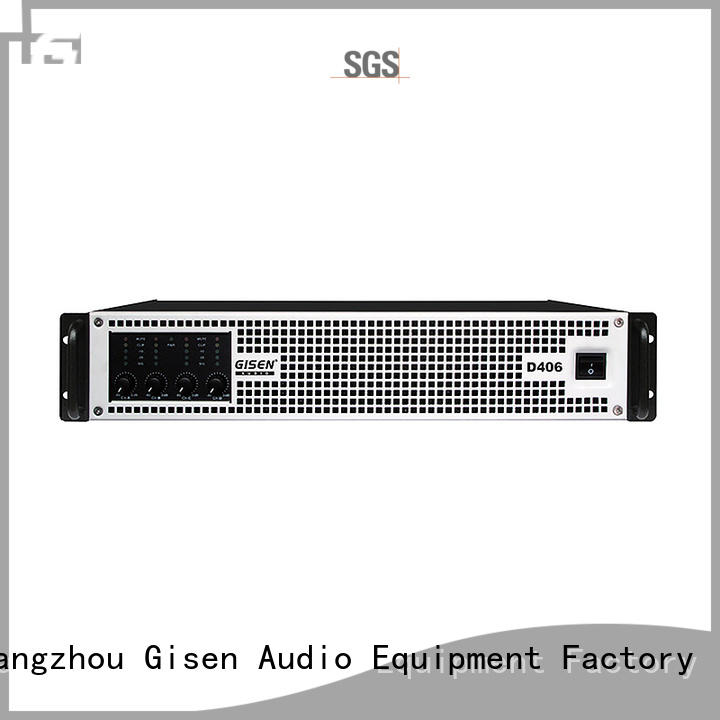 Gisen power digital audio amplifier fast delivery for performance