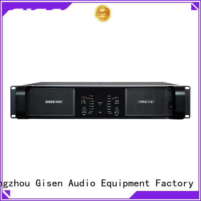 Gisen unrivalled quality multi channel power amplifier 4x1300w for ktv
