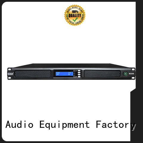 Gisen new model digital power amplifier supplier for entertainment club