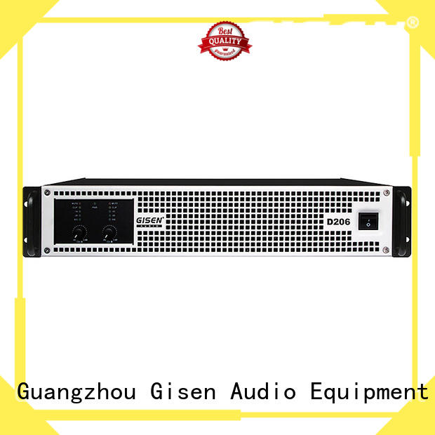 Gisen amplifier digital audio amplifier supplier for performance