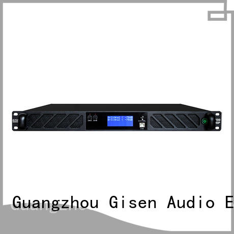 Gisen high quality dsp amplifier manufacturer for various occations