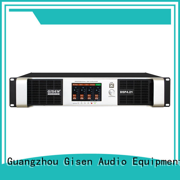 Gisen high quality amplifier power wholesale for stage