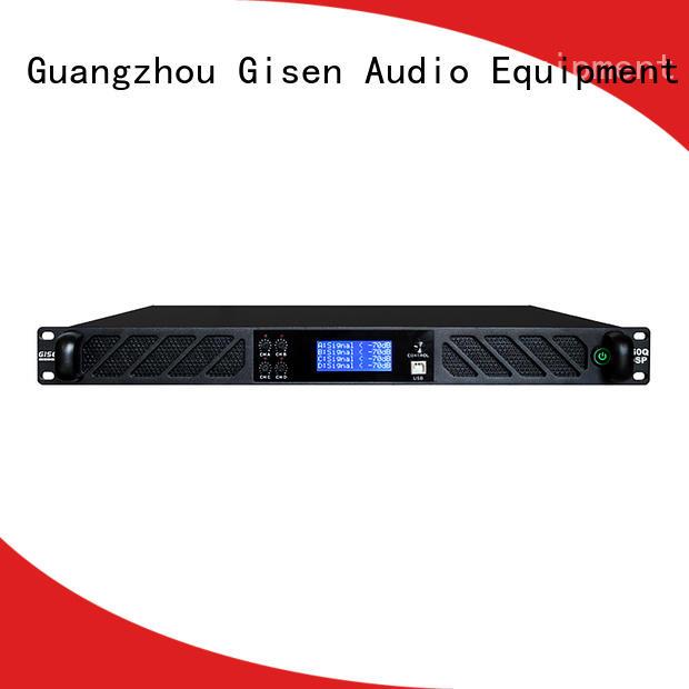 Gisen 2100wx2 dsp amplifier wholesale