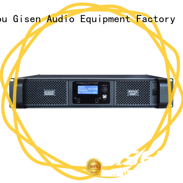 desktop audio amplifier 8ohm for stage Gisen