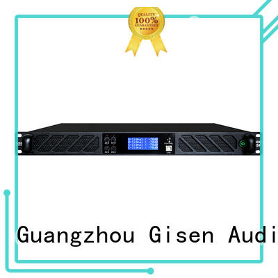 Gisen 1u amplifier power manufacturer for performance