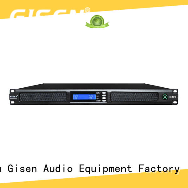 4channel power amplifier series for venue Gisen