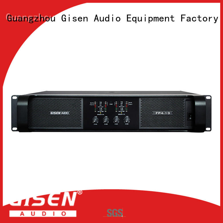 power best multi channel amplifier 4x1300w for various occations Gisen