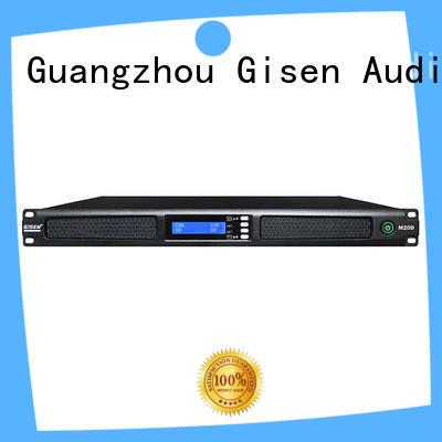 Gisen new model 4 channel pro amplifier supplier for venue