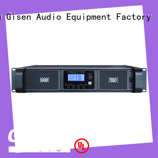 high quality dsp power amplifier 2 channel supplier for various occations