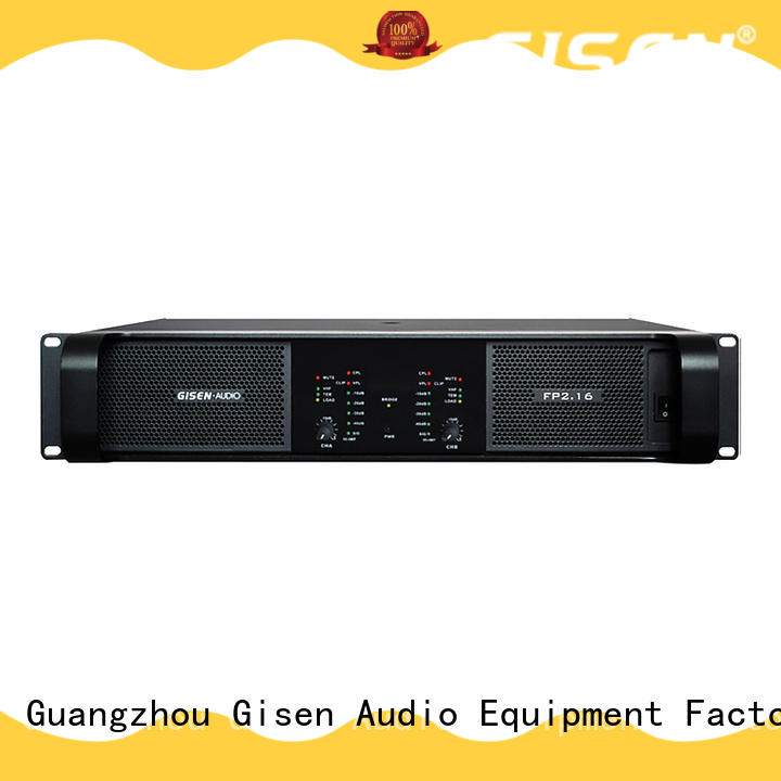 Gisen popular home audio amplifier get quotes for night club