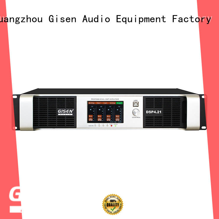 Gisen multiple functions 1u amplifier factory for various occations