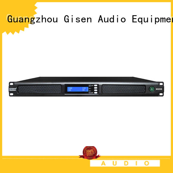 Gisen new model sound amplifier wholesale for venue