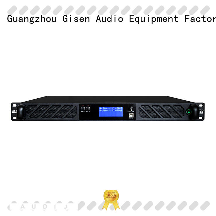multiple functions 1u amplifier channel supplier for venue