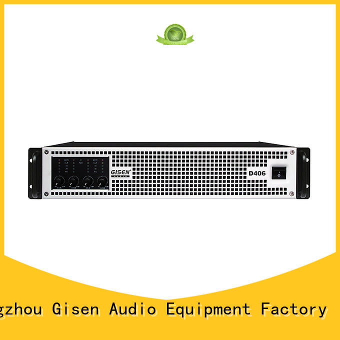 Gisen advanced class d stereo amplifier wholesale for meeting