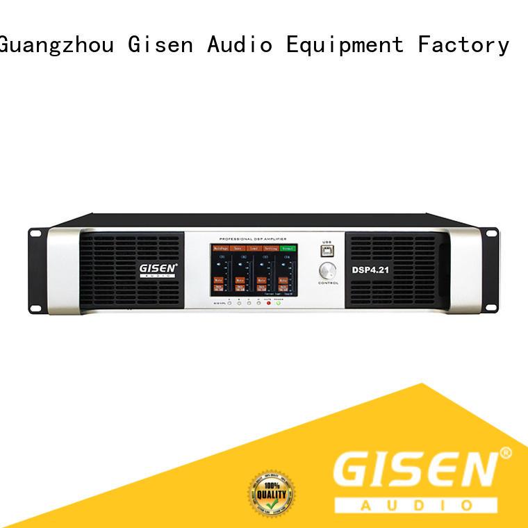 8ohm dj sound amplifier supplier for venue Gisen