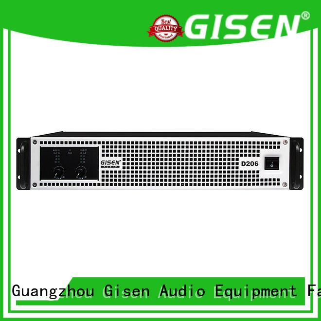 Gisen 2100wx4 dj amplifier wholesale for stadium