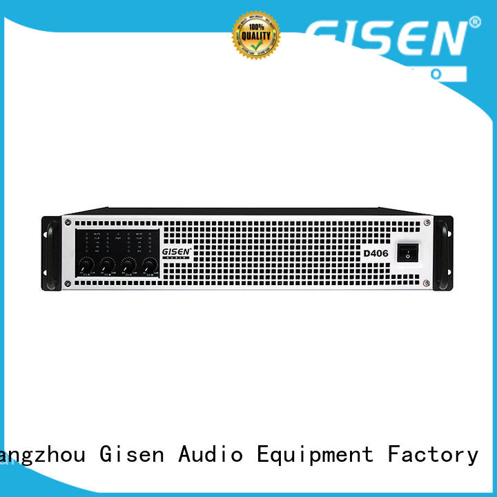 Gisen full range sound digital amplifier fast shipping for ktv