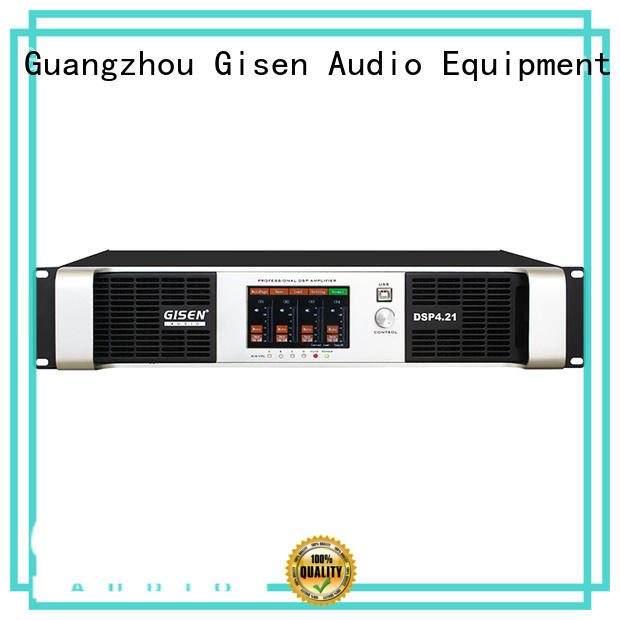 Gisen high quality best power amplifier in the world wholesale