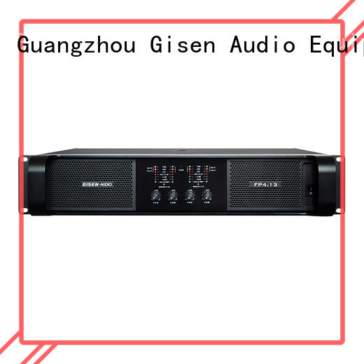 Gisen unbeatable price professional amplifier one-stop service supplier for ktv