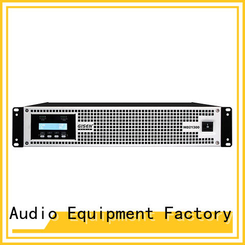 Gisen competitive price best audio amplifier overseas market for conference