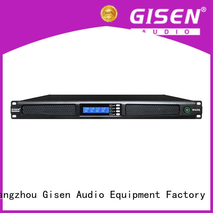 4 channel digital amplifier series for venue Gisen
