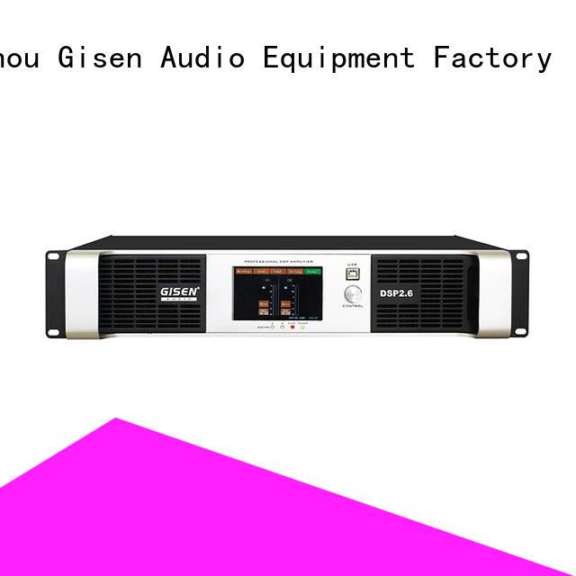 multiple functions dsp power amplifier power manufacturer
