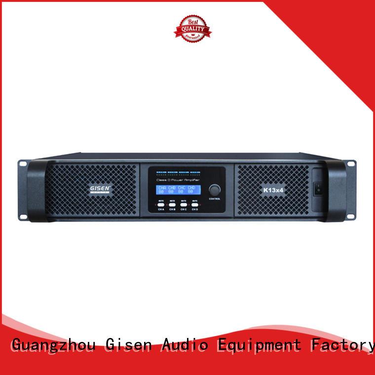 Gisen 2100wx4 hifi class d amplifier supplier for performance