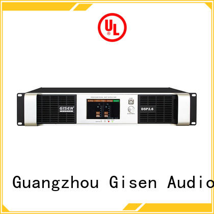 Gisen 1u dj power amplifier factory for performance