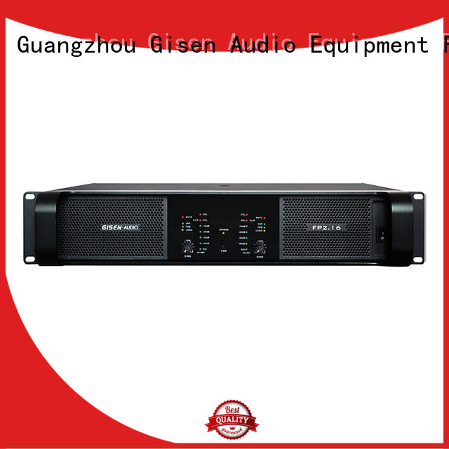 Gisen unreserved service home audio amplifier source now for ktv