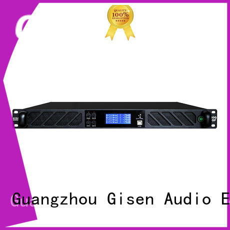 Gisen professional pro dj amplifier supplier for stage