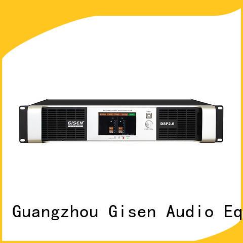 Gisen multiple functions dsp amplifier supplier for performance