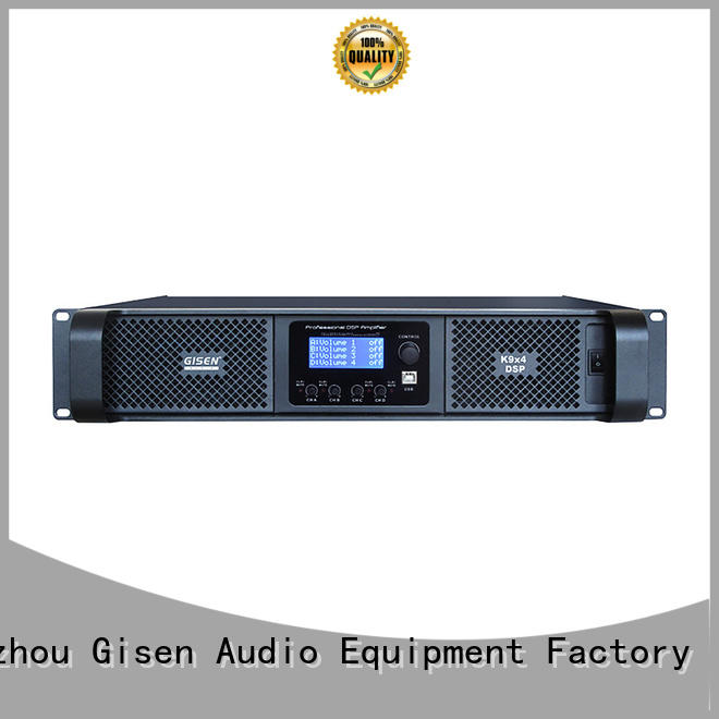 Gisen high quality slimline amplifier amplifier for performance