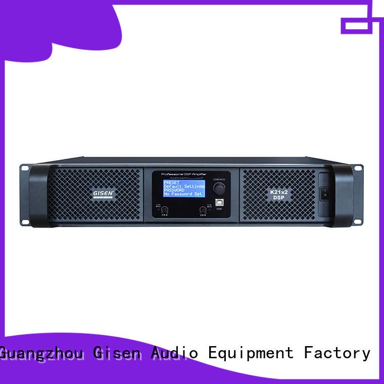 Gisen 1u amplifier power wholesale for performance