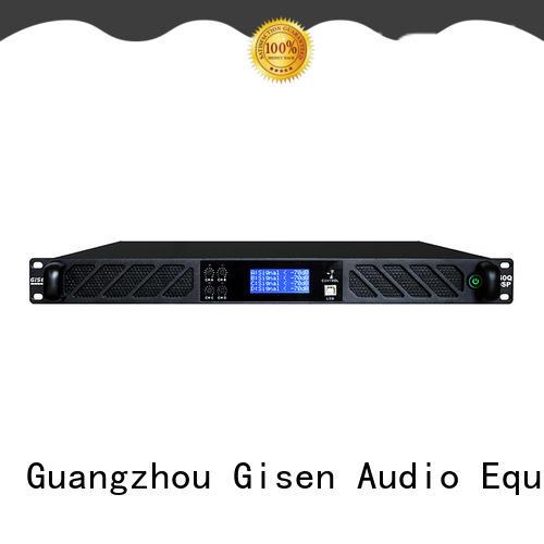 Gisen 2 channel dsp amplifier wholesale
