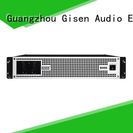 Gisen advanced hifi class d amplifier wholesale for entertaining club