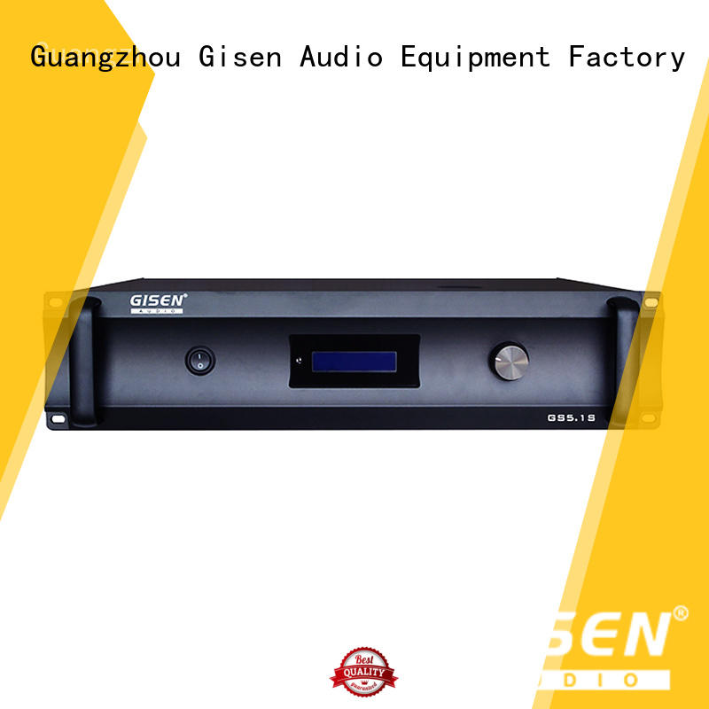 Gisen oem odm home stereo amplifier manufacturer for indoor place