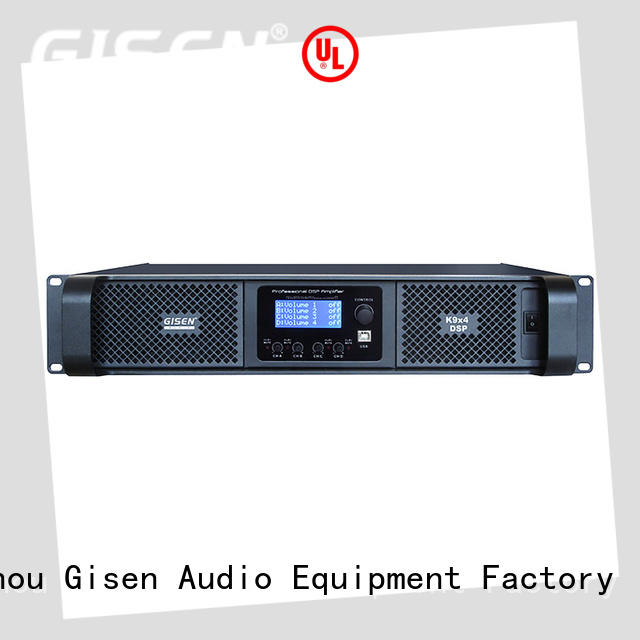 Gisen 2100wx2 1u amplifier factory for various occations