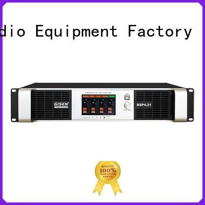 2 channel dj stereo amplifier supplier Gisen