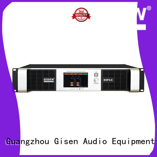 Gisen high quality amplifier power supplier for stage